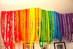 rainbows are my inspiration for this room