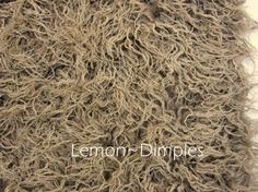 TwoToned Llama Fur Photography Prop Basket by LemonDimples on Etsy, $35.00