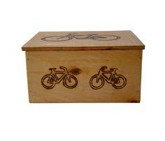 Szkatułka rower w BLOUZ  na DaWanda.com