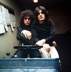 yes. Marc Bolan and Mickey Finn