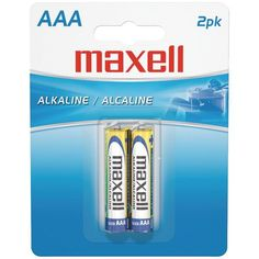 Click over to  http://www.bargainsdelivered.com/products/maxell-723807-lr032bp-alkaline-batteries-aaa-2-pk-carded?utm_campaign=social_autopilot&utm_source=pin&utm_medium=pin to see MAXELL 723807 - L... from Bargains Delivered