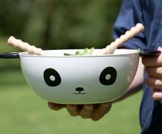 ensaladarera panda