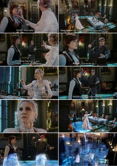 """""""Eventually, everyone sees me as a monster. Maybe it's time to embrace that ..."""" Snow Queen, Anna and Kristoff - 4 * 8 """"Smash the Mirror."""""""