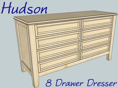 Ana White   Build a Hudson Dresser   Free and Easy DIY Project and Furniture Plans