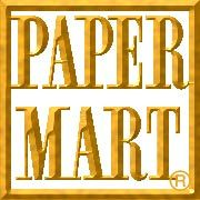 """PaperMart; 2.5"""" confetti bows in emerald and royal--200 in each case, for $14/case. $7.50 shipping"""