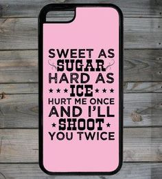 Country Girl® Shoot Twice iPhone 5C Case/Cover