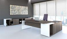 Office Furniture : Home Desk Ideas Reception Desk Modern White intended for Modern Executive Office Table Design 33756 Modern Home Office Desk, Contemporary Office Desk, Executive Office Desk, Home Desk, Modern Desk, Office Desks, Stylish Office, Contemporary Design, Office Furniture