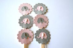 pink and grey birthday party - Google Search
