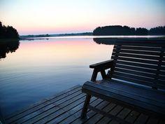 A Finnish summer dawn Outdoor Furniture, Outdoor Decor, Finland, Dawn, Explore, Search, Summer, Home, Research