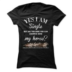 My horse T Shirt, Hoodie, Sweatshirts - design t shirts #tee #shirt