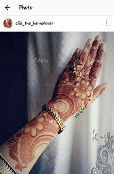 Khafif Mehndi Design, Floral Henna Designs, Henna Art Designs, Modern Mehndi Designs, Mehndi Design Pictures, Mehndi Designs For Girls, Wedding Mehndi Designs, Dulhan Mehndi Designs, Beautiful Mehndi Design