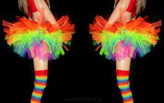 fc928fa043 Rainbow Brite Tutu Poofy Rainbow Tutu www.tutufactory.co.uk Rainbow Tutu,