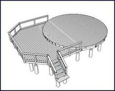 build my own wood yurt | For information on decks for yurts, click here or on the image above