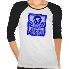 Dysautonomia Hope Butterfly Shirts by diseaseapparel.com #Dysautonomia  #DysautonomiaAwareness