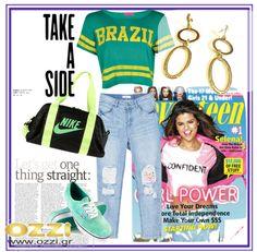 #LookOfTheDay Εμείς μπήκαμε για τα καλά στο ρυθμό του Mudial! Με το καλύτερο #sports look συνδυάζουμε τα αγαπημένα σκουλαρίκια-κρίκους από τη #OZZI #fashion #earrings #jewellery #accessories