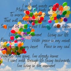 """If life is only 1 ACT why do we lay traps in our own path when we just want to feel free?  I will NOT waste my days making up ways to worry about the things which will NOT happen to me.  I will learn to let go and live in the moment.  -- #LyricArt for """"Living In The Moment"""" by Jason Mraz"""