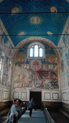 Uscita a Padova, Cappella degli Scrovegni