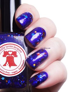 xoxoJen's swatch of Philly Loves Lacquer Trilby