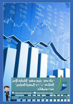 """"""" بنك مصر """" يقيم سهم """" الشرقية للامن الغذائى """" بـ9.7 و """" المصرية للدواجن """" عند 6 جنيهات لكل سهم  https://www.facebook.com/jazirabrokerage/photos/pb.237192249823797.-2207520000.1410179968./278274209048934/?type=3&theater"""