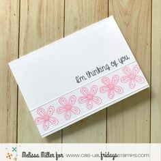 Calling All Sistahs September Reminder Breast Cancer Cards, Breast Cancer Awareness, Melissa Miller, Die Cut Cards, Card Maker, Thinking Of You, Encouragement, Casual Fridays, Making Cards