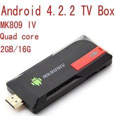 >> Click to Buy << High Quality MK809 IV Android 4.2.2 Mini Smart PC TV Box Rockchip Rk3188 Quad core 2GB/16G WiFi HDMI Free Shipping #Affiliate