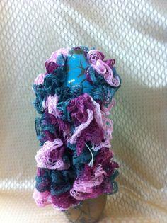 Knit Scarf via Etsy