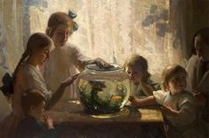 Vintage Pictures, Fishbowl, Photography, Painting, Art, Round Fish Tank, Art Background, Photograph, Fish Bowl Vases