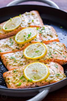 Baked salmon with garlic and dijon is juicy flaky and flavorful. An easy excel Baked salmon with garlic and dijon is juicy flaky and flavorful. An easy excellent salmon recipe. Learn how to bake perfect salmon every time! Source by SkinRenewalSA Baked Salmon Recipes, Fish Recipes, Seafood Recipes, Recipies, Fish Dishes, Seafood Dishes, Kitchen Recipes, Cooking Recipes, Baking Center