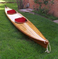 Guillemot Double: Strip-Built Tandem Sea Kayak from Nick Schade