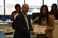Congratulations to our NY office's Q3 Talent DNA winners! Megha Rao won our Business Prowess Award.