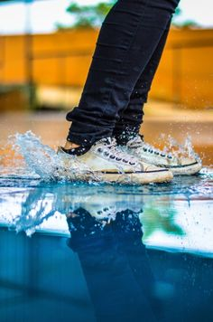 Girl Next Door Fashion. Keys To Finding The Best Sneakers For Women. Are you shopping for the best sneakers for women? Best Sneakers, Custom Sneakers, Custom Shoes, Slip On Sneakers, White Sneakers, Sneakers Fashion, Fashion Shoes, Jumping Pictures, Foot Pictures