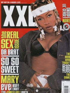 Da Brat Hip Hop And R&b, Love N Hip Hop, 90s Hip Hop, Hip Hop Rap, Female Rap Artists, Hip Hop Artists, Da Brat, Hip Hop Classics, Black Magazine
