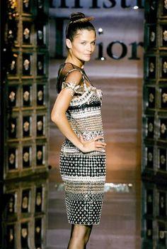 Helena Christensen Christian Dior Haute Couture Fall/Winter 1996
