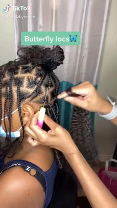 Braids Hairstyles Pictures, Faux Locs Hairstyles, Protective Hairstyles For Natural Hair, Black Girl Braided Hairstyles, Natural Hair Braids, Twist Braid Hairstyles, African Braids Hairstyles, Baddie Hairstyles, Braids For Black Hair