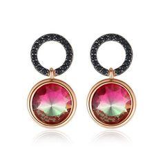 #cerceipietrenegre #cerceideosebiti Women's Earrings, Fashion Jewelry, Rose Gold, Pendant Necklace, Stuff To Buy, Color, Design, Colour, Trendy Fashion Jewelry