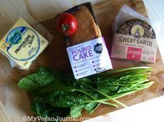 """<3 it's SO easy to be vegan! need a little inspiration? this photo will take you straight to the My Vegan Journal Facebook page with over 50K friendly """"fans.""""  See ya there! <3 @sweetearthfoods https://www.facebook.com/myveganjournal"""
