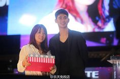 """awesome Kim Soo Hyun -  on """"Lotte Family Concert"""" in Busan. (04/09/2015)"""