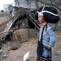 CHINA: LONG HORN TRIBE / LA CHINE: LA TRIBU DE LA LONGUE CORNE / 长角苗