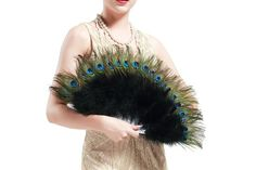 BABEYOND Roaring Vintage Peacock Accessories