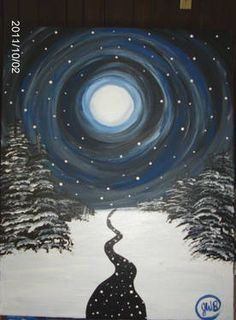 This reminds me of the guided meditation that I listen to, for falling asleep… January Crafts, Moon Time, Look At The Moon, Rug Hooking Patterns, Arts And Crafts, Diy Crafts, Falling Asleep, Christmas Illustration, Moon Art