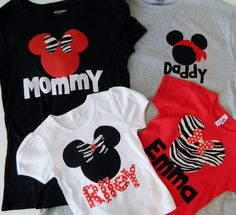 Family Disney shirts