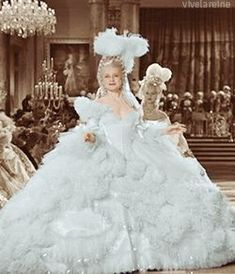 Gilbert Adrian extravagant gowns for MGM's Marie Antoinette (Norma Shearer) Norma Shearer, Beautiful Costumes, Beautiful Gowns, Marie Antoinette Film, Hollywood Costume, 18th Century Fashion, Movie Costumes, Theatre Costumes, Shows