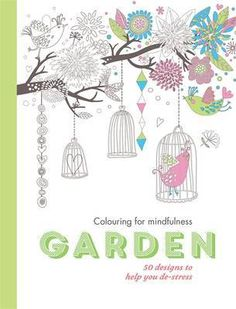 Buy Garden: 50 Designs to Help You De-Stress (Colouring for Mindfulness) From WHSmith today! FREE delivery to store or FREE UK delivery on all orders ov. Colouring Pages, Printable Coloring Pages, Coloring Books, Colouring Pencils, Colorful Garden, Christmas Colors, Adult Coloring, Color Splash, Color Inspiration
