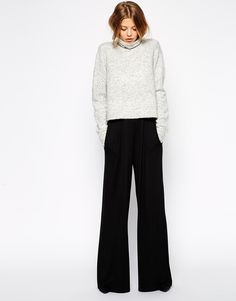 b0700028d07 Off The Shoulder – LYST – New York Style Wide Trousers