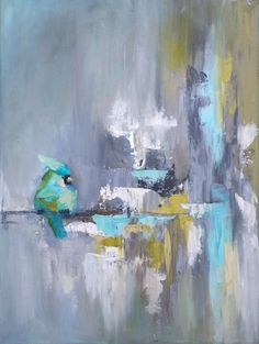 Bird painting by artist Blaire Wheeler
