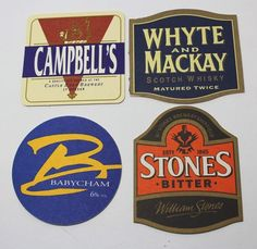 Lot of Over 125 Different German Beer Coasters Lager Beer, Beer Coasters, Brewery, Stone, Ebay, Rock, Rocks, Stones