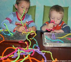 Mała motoryka 40 zabaw wspierających naukę pisania - Moje Dzieci Kreatywnie Creative Kids, Malaga, Montessori, Kindergarten, Education, Fun, Crafts, Therapy, Speech Language Therapy