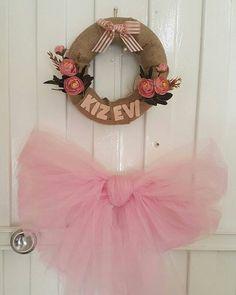 Kapı süsü #kız #evi