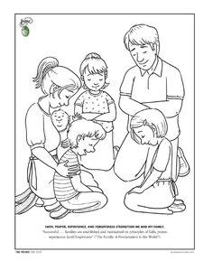coloring page liahona june 2009 liahona