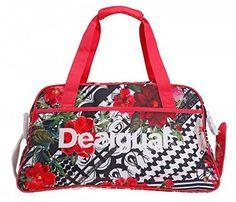 Desigual Women Bag Gym Bag Fitness Bag Paradise 52x27x24 - Pink